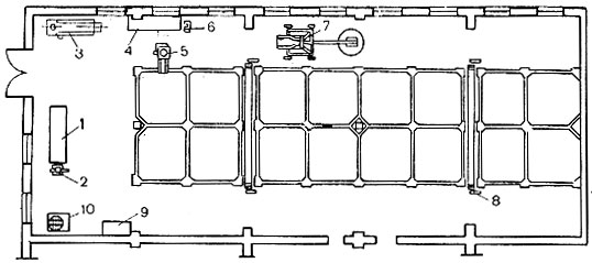 Схема квасильного цеха с