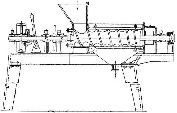 Схема экстрактора для