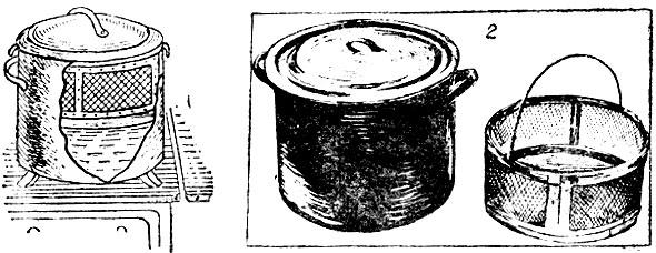 1 - схема установки сетчатой