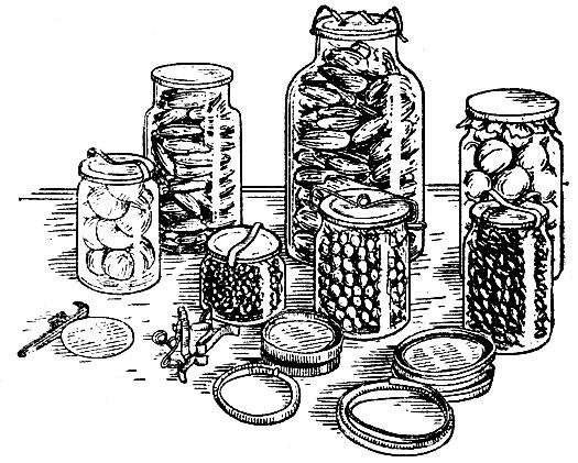 различные ртаблицы для консервирования