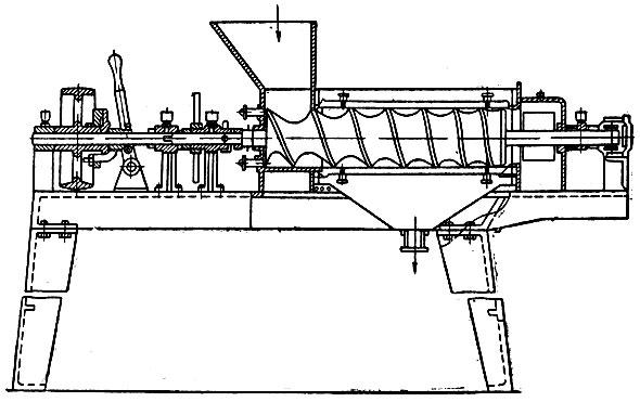 Схема экстрактор для получения